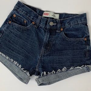 Women's Levi 550 Relaxed cutoff Jean shorts